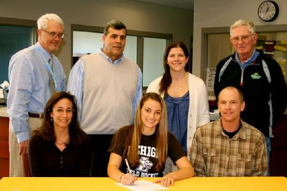 Erin Ricker 2012 to LU