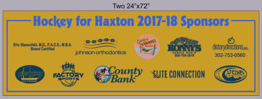 Thank you 2017-18 Sponsors